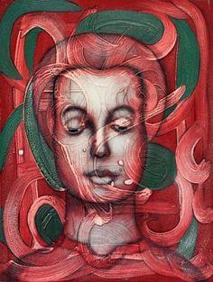 Testa rosa - Angelo Marini