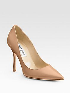 Jimmy Choo Lilac Point-Toe Pumps
