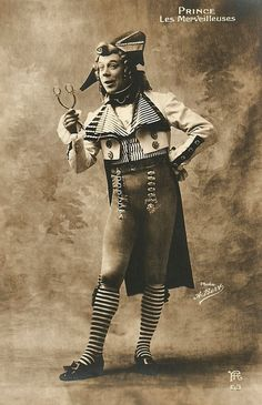 Charles Prince (1872-1933), aka just 'Prince' ,was a French film actor, director and writer. He was famous for his countless comical shorts with his alter ego Rigadin.