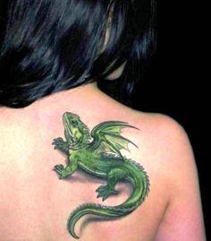 Lizard Tattoo Designs