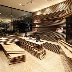 Gurunavi cafe and office by Kengo Kuma_dezeen_sqa