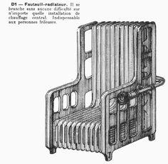 Sillón radiador objetos-imposibles-jacques-carelman (1)