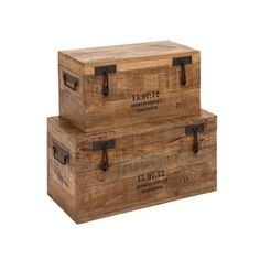 By Post Trunks - Set of 2