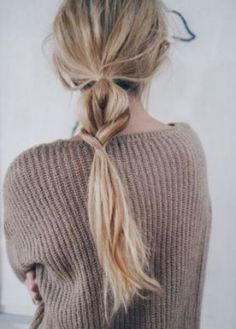 Hair Inspiration: Half + Half Braided Ponytail (Le Fashion) simple + beautiful Admin See author's posts Related Good Hair Day, Great Hair, Messy Hairstyles, Pretty Hairstyles, Summer Hairstyles, Hairstyle Ideas, Office Hairstyles, Amazing Hairstyles, Hairstyle Tutorials