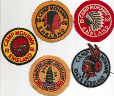 Camp Mohawk Patches