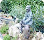 Beelden maken met textielverharder tuinbeeld zelf stap voor stap knutselen met uitleg