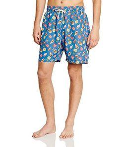 Hackett London Shorts da Bagno ZZZ  [Blu]