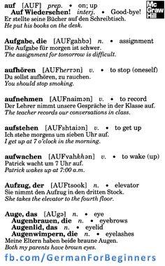 German For Beginners: 12