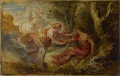 Peter Paul Rubens: 'Aurora abducting Cephalus' 1636-7, National Gallery of Art, London