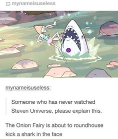 I've never seen Steven Universe so it's acurrate to me