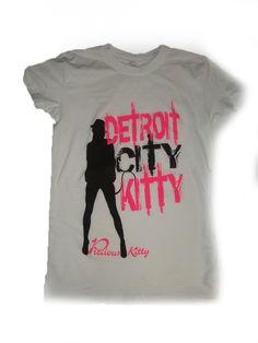 Detroit City Kitty Shirt -