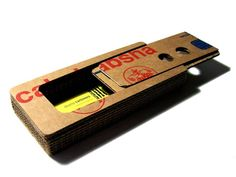 Sliding Recycled Cardboard Pencil Cases Are Too Cool For School