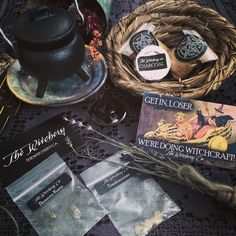 Magical items from The Witchery!