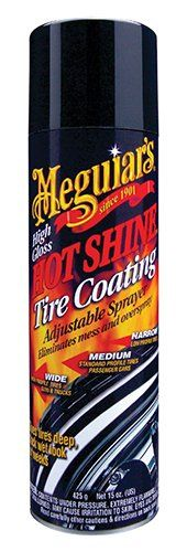 How to shine your tires - Eautotires : Meguiar's G-13815 Hot Shine High Gloss Tire Coating