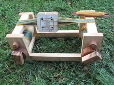 Small Box Loom  by Woodstuffs of NC | Card or tablet weaving, rigid heddle, and…