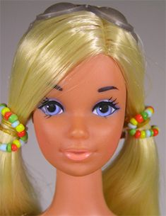 1972 The Sun Set Barbie doll with the new Steffie face sculpt Barbie Life, Barbie World, Barbie And Ken, Barbie House, Beautiful Barbie Dolls, Vintage Barbie Dolls, Mattel Barbie, Barbie Wedding Dress, Barbie Friends