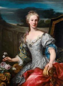 Giuseppe Bonito - Portrait Of A Lady Of The Neapolitan Nobility