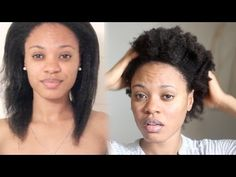 Watch My Natural Hair Revert from Straight to Kinky - 4C Hair - YouTube