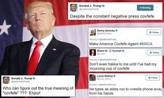 Trump attempts to diffuse online mocking after 'covfefe' tweet