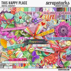 Kit: Happy Place by WendyP Designs  http://scrapstacks.com/shop/This-happy-place-Bundled-Collection-by-WendyP-Designs.html http://www.mscraps.com/shop/wendypdesigns-ThishappyplaceBundledCollection/ http://www.digitalscrapbookingstudio.com/collections/t/this-happy-place-by-wendyp-designs/