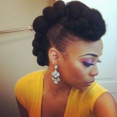 afrobuttafly: Teyonah Parris inspired do by...