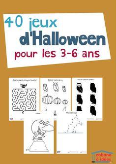 Le pack d'activité spécial Halloween Découvrez le pack d'activités Halloween!