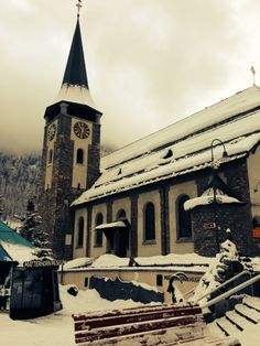 Zermatt, In resort, January 2014