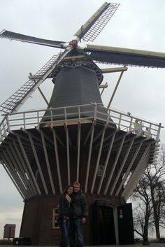 One of the windmills in the Netherlands (Keukenhof 2015)