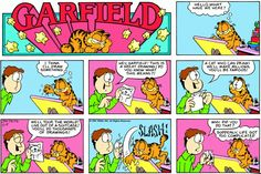 Garfield & Friends | The Garfield Daily Comic Strip for August 05th, 1984