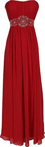 Strapless Chiffon Goddess Long Prom Dress Bridesmaid, 3X, Red PacificPlex http://www.amazon.com/dp/B00OEJK38W/ref=cm_sw_r_pi_dp_smPmvb1WQHMTD