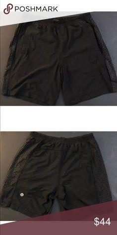 a9664179e2 Lululemon Athletica Running Shorts Lululemon Athletica Men's Shorts Size L  Black Will Ship on 1/