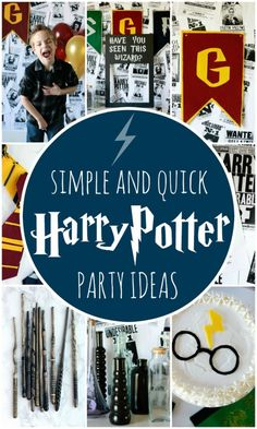 Harry Potter Birthday Party