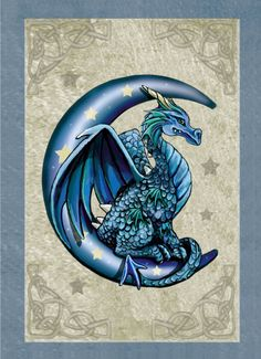 They are majestic and magical, powerful and strong, and they bring good luck and… Sie sind majestätisch und magisch, kraftvoll. Baby Dragon Tattoos, Cute Dragon Tattoo, Dragon Tattoo Designs, Mythical Creatures Art, Fantasy Creatures, Fantasy Kunst, Fantasy Art, Javi Wolf, Ice Dragon