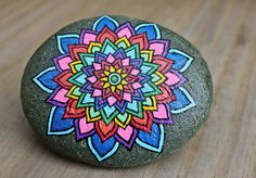 .Love all the color in this mandala!