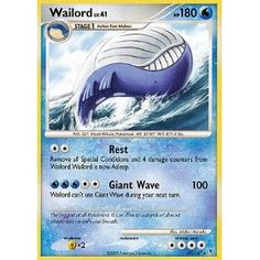 Another cool wailord #wailord #pokemon #card