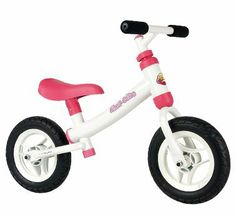 Bicicleta infantil de metal.
