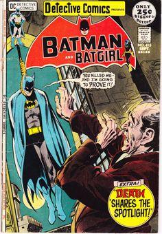 Batman in Detective Comics 415 Batgirl Robin comic #femalesuperhero #batgirl #comicbook #nealadams