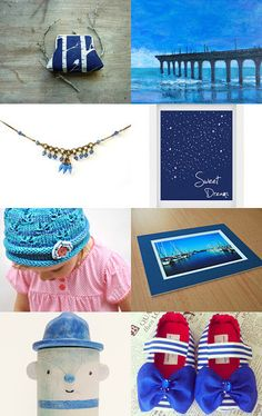 My blue collection by Edna on Etsy--Pinned with TreasuryPin.com #awtreasuries #etsyau