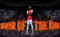 Thierry Henry Return Of The King HD Wallpaper