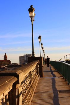 La Garonne in Toulouse, France. Check out my travel blog!