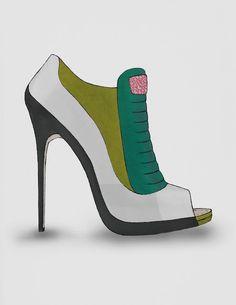 Disponible avec tous mes autres dessins sur Guillaume Bergen - #Fashion #Sketch