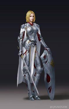 plate armor, shield, sword, warrior, fighter, knight