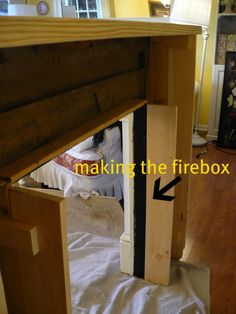How to Make a Faux Fireplace