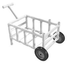 PVC Fishing Cart