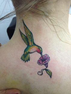 amazing hummingbird tatoo!  my fave so far