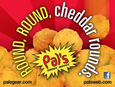 cheddar rounds...one of the big reasons why i would have problems living anywhere else..
