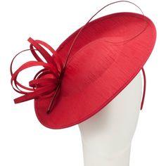 Buy John Lewis Erin Medium Shantung Disc Hat Fascinator online at John... ($70) ❤ liked on Polyvore featuring accessories, fascinator, hats and john lewis