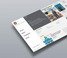Penguin Random House on Behance User Interface 666ee6773a5