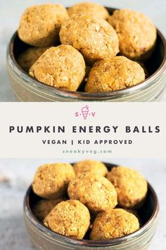 Deliciously sweet, these apricot and pumpkin energy balls are easy to make and are a tasty and healthy snack with a portion of veg added. Suitable for vegans. #energyballs #pumpkinenergyballs #vegan #vegansnacks #hiddenveg Hidden Vegetable Recipes, Hidden Vegetables, Vegan Snacks, Healthy Treats, Vegan Meals, Pumpkin Energy Balls, Diet Recipes, Vegetarian Recipes, Homemade Pumpkin Puree