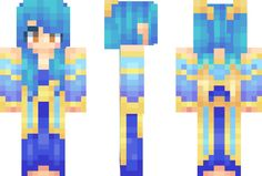 league of legends lux minecraft skin